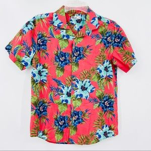 EPIC THREADS Hawaiian Button Short Sleeve Shirt